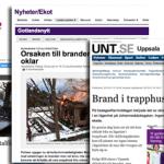 Bränder i Sverige janiari 2013